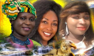 Esther Smith, Rev Mary Ghansah And QueenLet