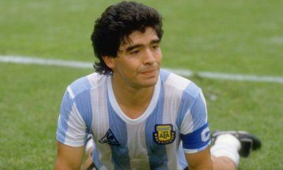 Argentina Soccer legend, Diego Maradona
