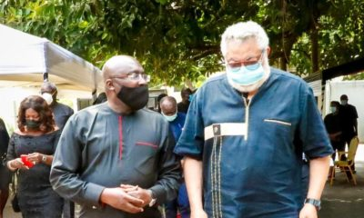 Dr Mahamudu Bawumia And Ex-president Jerry John Rawlings