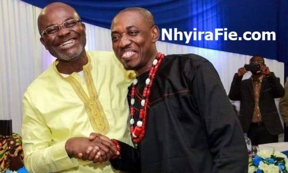 Hon Kennedy Ohene Agyapong And Nana Sarkodie Ababio (aka DJ Sources)